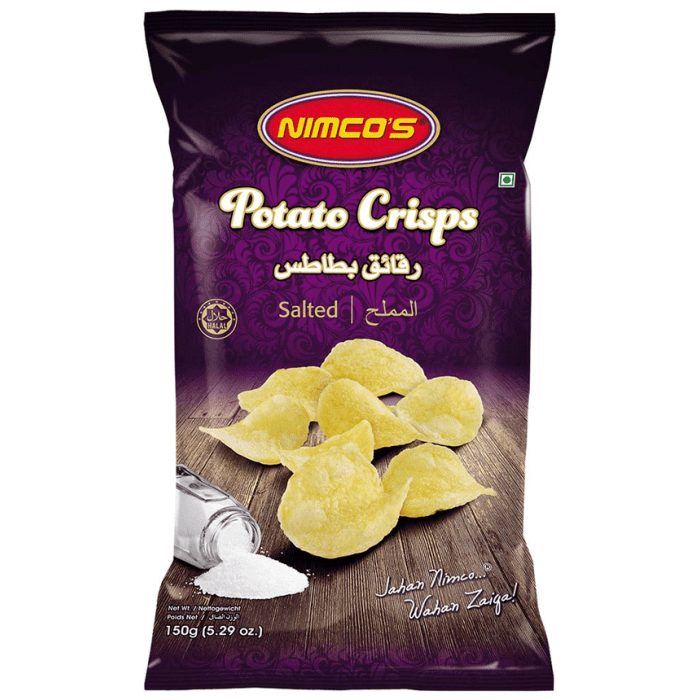 Nimco's Potato Crisps 150 Grams