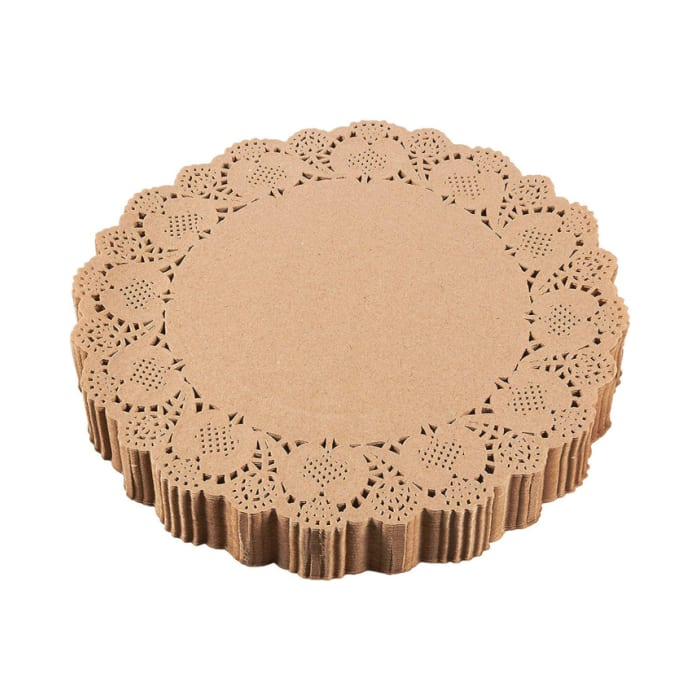 Hotpack Round Doilies 14.5 Inch