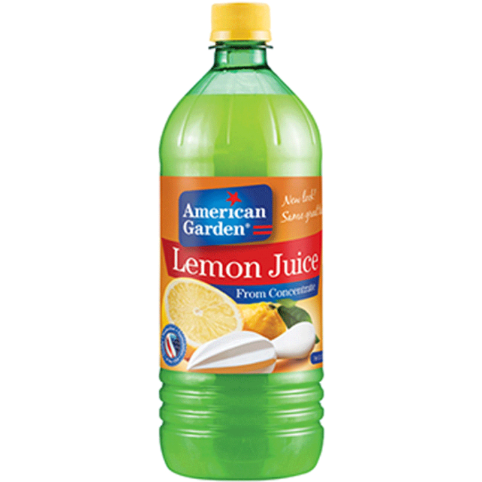 American Garden Lemon Juice