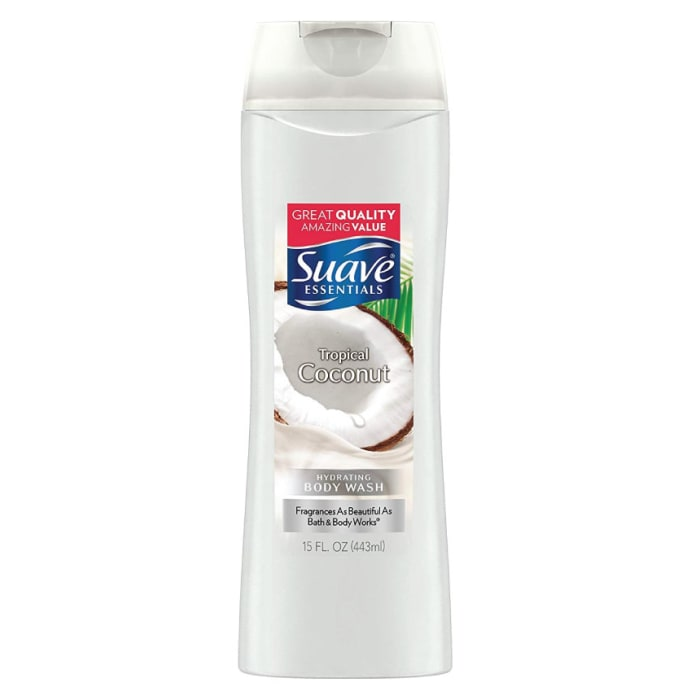 Suave Essentials Creamy Tropical Coconut Body Wash