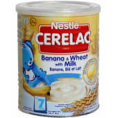 Nestle Banana And Wheat With Milk Baby Cereal