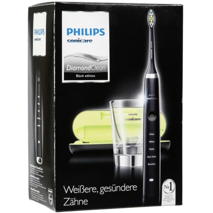 Philips Sonicare DiamondClean Sonic Electric Rechargeable Toothbrush Black HX9352/04
