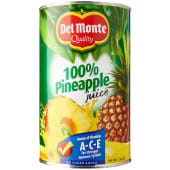 Del Monte 100% Pineapple Juice
