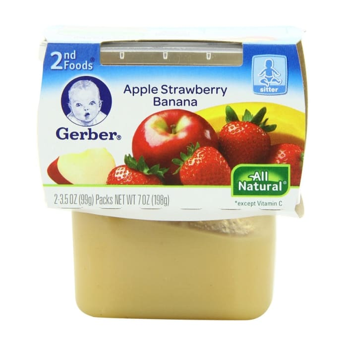 Gerber 2nd Foods Apple Banana Strawberry