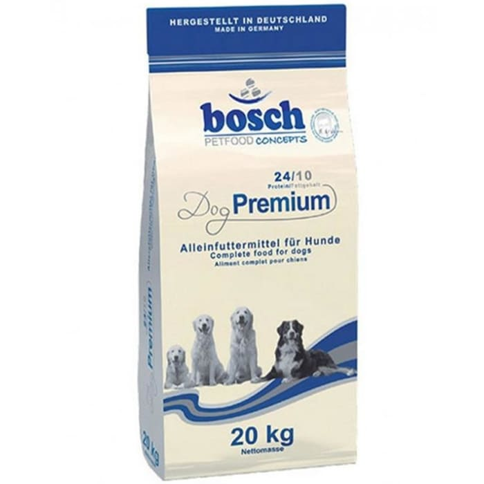 Bosch Premium Puppy and Adult Dog Food with Meat and Fish 20Kg