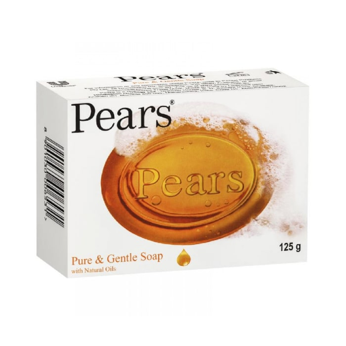 Pears Pure & Gentle Soap with Natural Oils