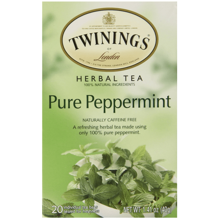 Twinings Pure Peppermint Tea