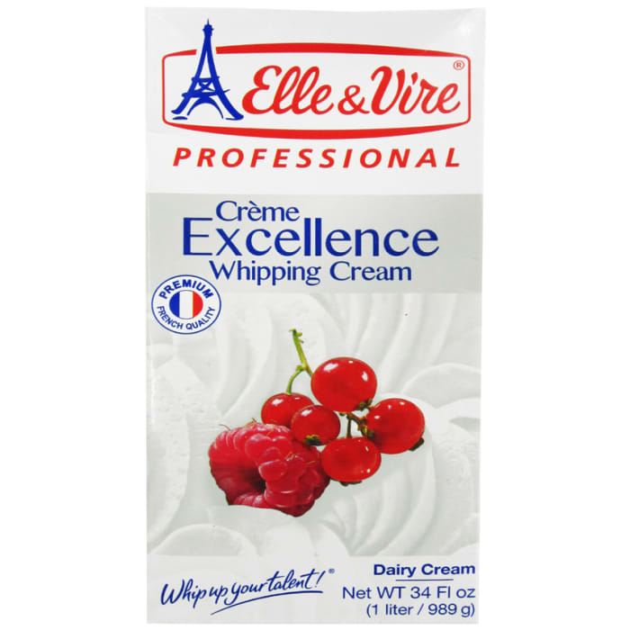 Elle & Vire Uht Excellence Whipping Cream