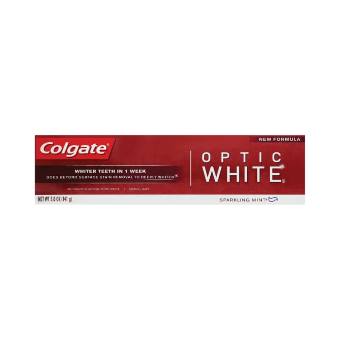 Colgate Optic White Whitening Sparkling Mint Toothpaste