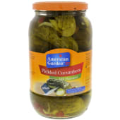 American Garden Cucumbers Dill Pickled Flavored