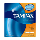Tampax Super Plus Cardboard Applicator 20 Count