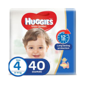 Huggies Ultra Comfort Diapers Size 4 40/ct