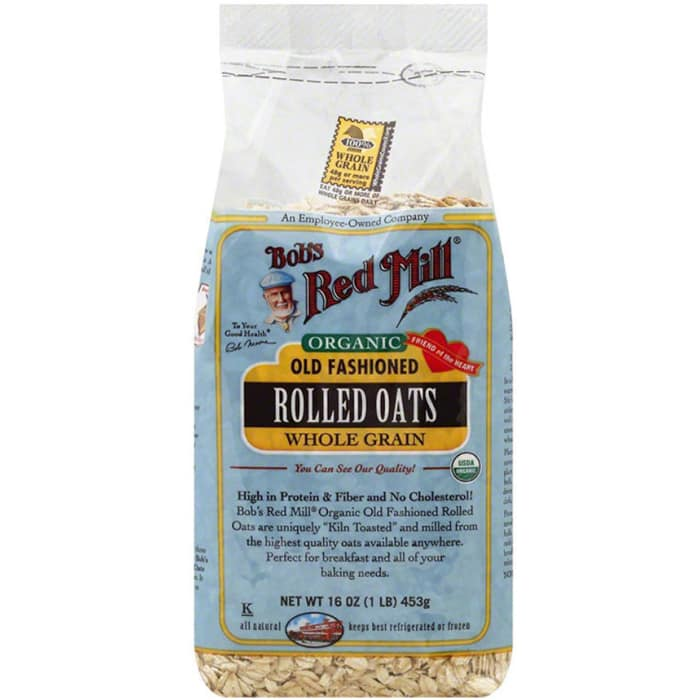 Bob's Red Mill Organic Old Fashioned Rolled Oats Whole Grain