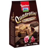 Loacker Quadratini Dark Chocolate Wafer