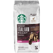 Starbucks Whole Bean Italian Roast Dark Coffee