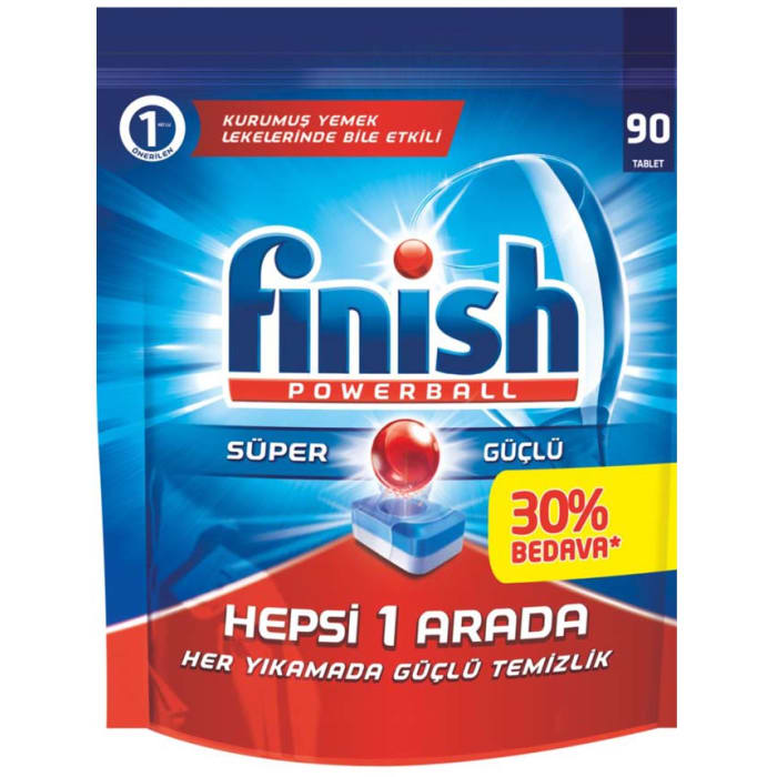 Finish Dishwasher Power Ball Tablets