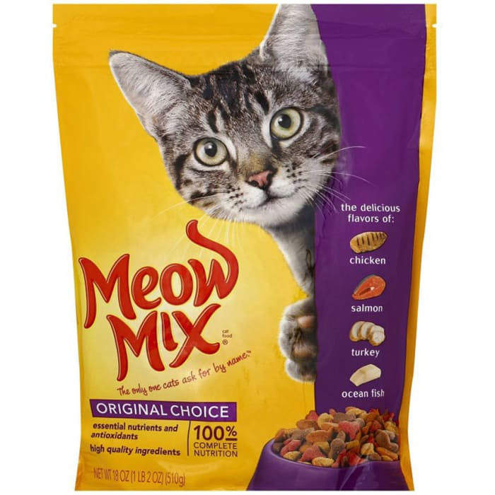 Meow Mix Original Choice Cat Food 510 g