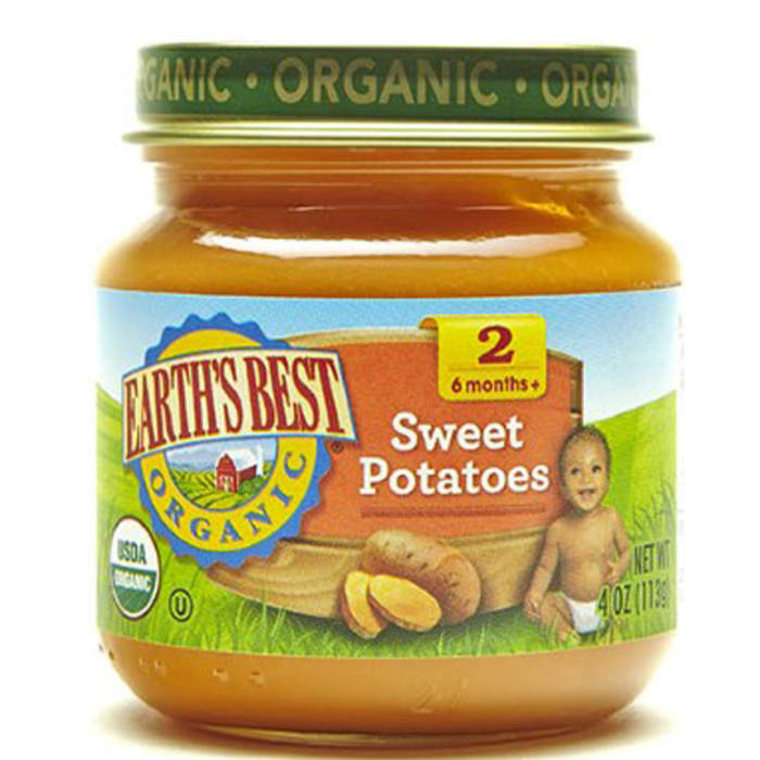 Earth's Best Organic Stage 2 Sweet Potatoes Baby Food