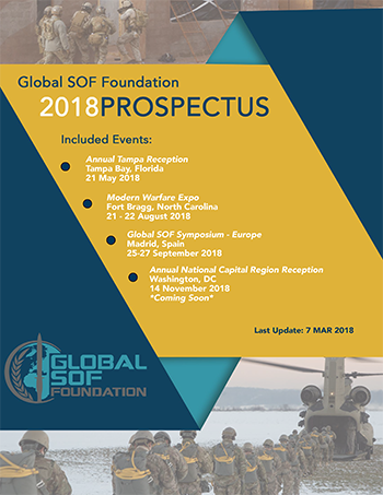 2018 Global SOF Foundation Prospectus Graphic