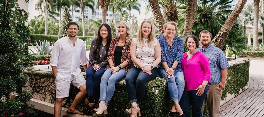Registration Team Photo