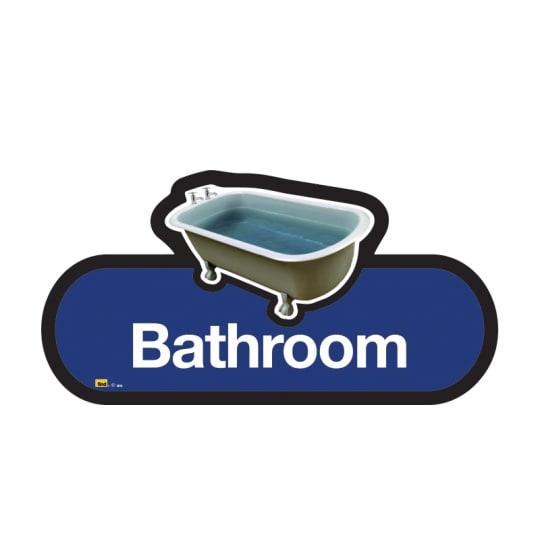 Dementia friendly Bathroom  - Dementia Signage