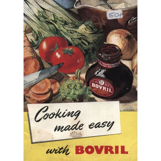 Bovril for Cooking - A4 (210 x 297mm)