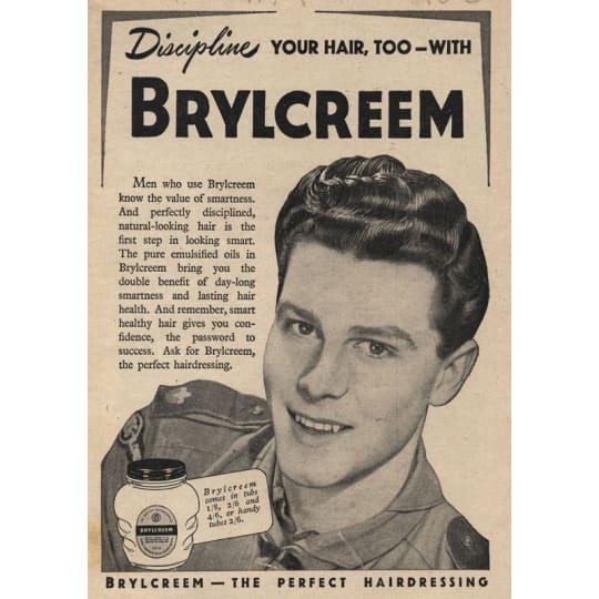 Dementia friendly Brylcreem for Men 3 - A4 (210 x 297mm)