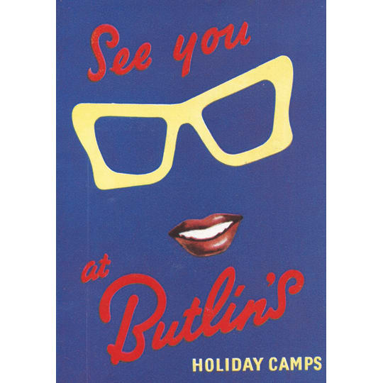 Butlins Holiday 11 - A4 (210 x 297mm)