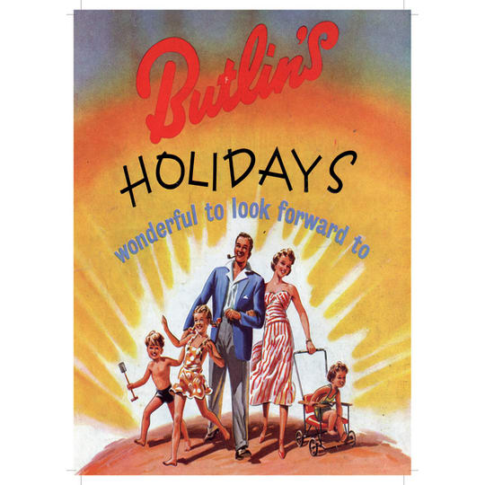 Butlins Holiday 2 - A4 (210 x 297mm)