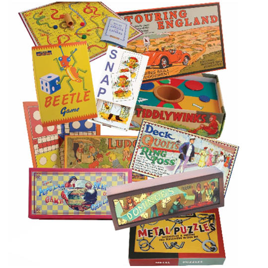 Dementia friendly Compendium of Traditional Board Games and Puzzles