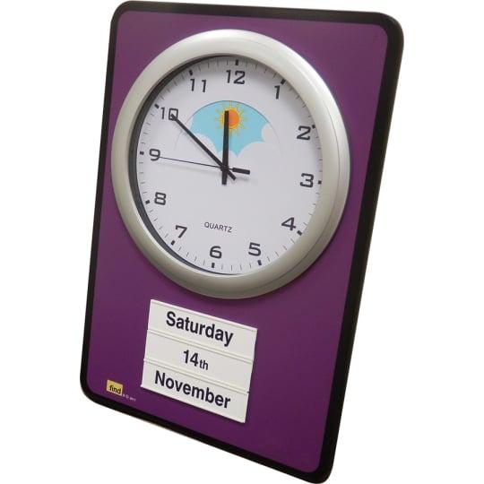 Dementia friendly Day / Night Dementia-Friendly Calendar Clock