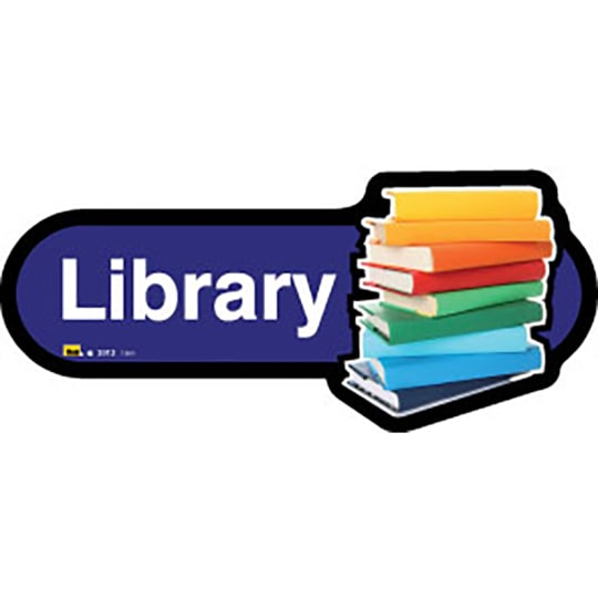 Library - Dementia Signage