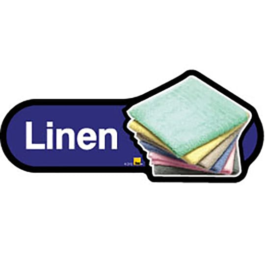 Linen  - Dementia Signage