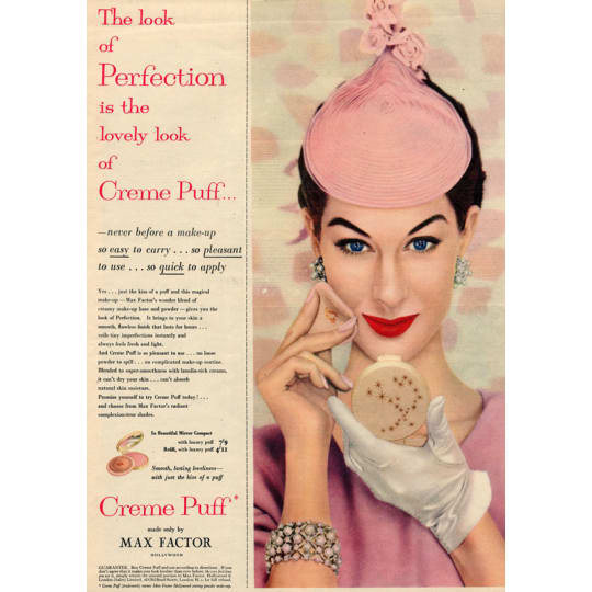 Max Factor Creme Puff - A4 (210 x 297mm)