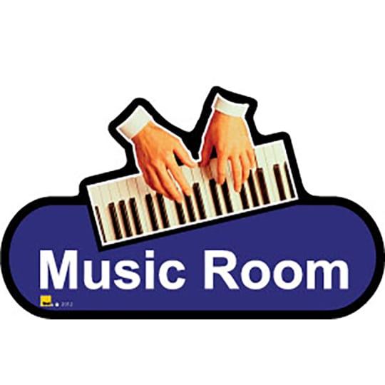 Music Room  - Dementia Signage