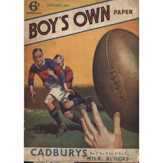 Dementia friendly Boys Own Paper - A4 (210 x 297mm)