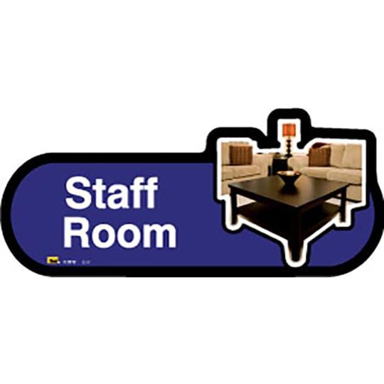 Staff Room - Dementia Signage