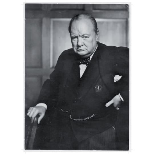 Dementia friendly Winston Churchill 2 - A4 (210 x 297mm)