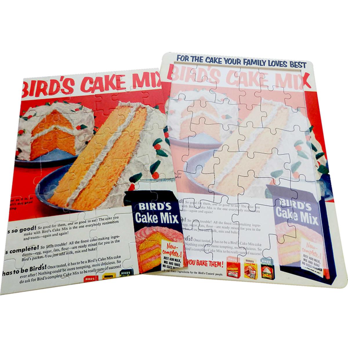 16 Piece Bird Cake Mix Jigsaw