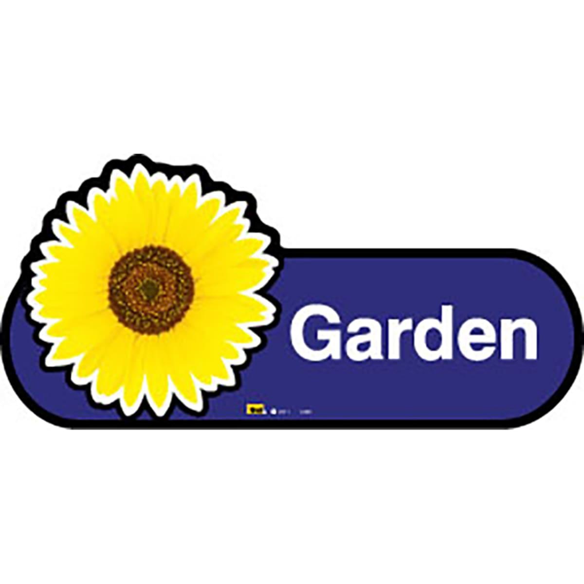 Garden - Dementia Signage