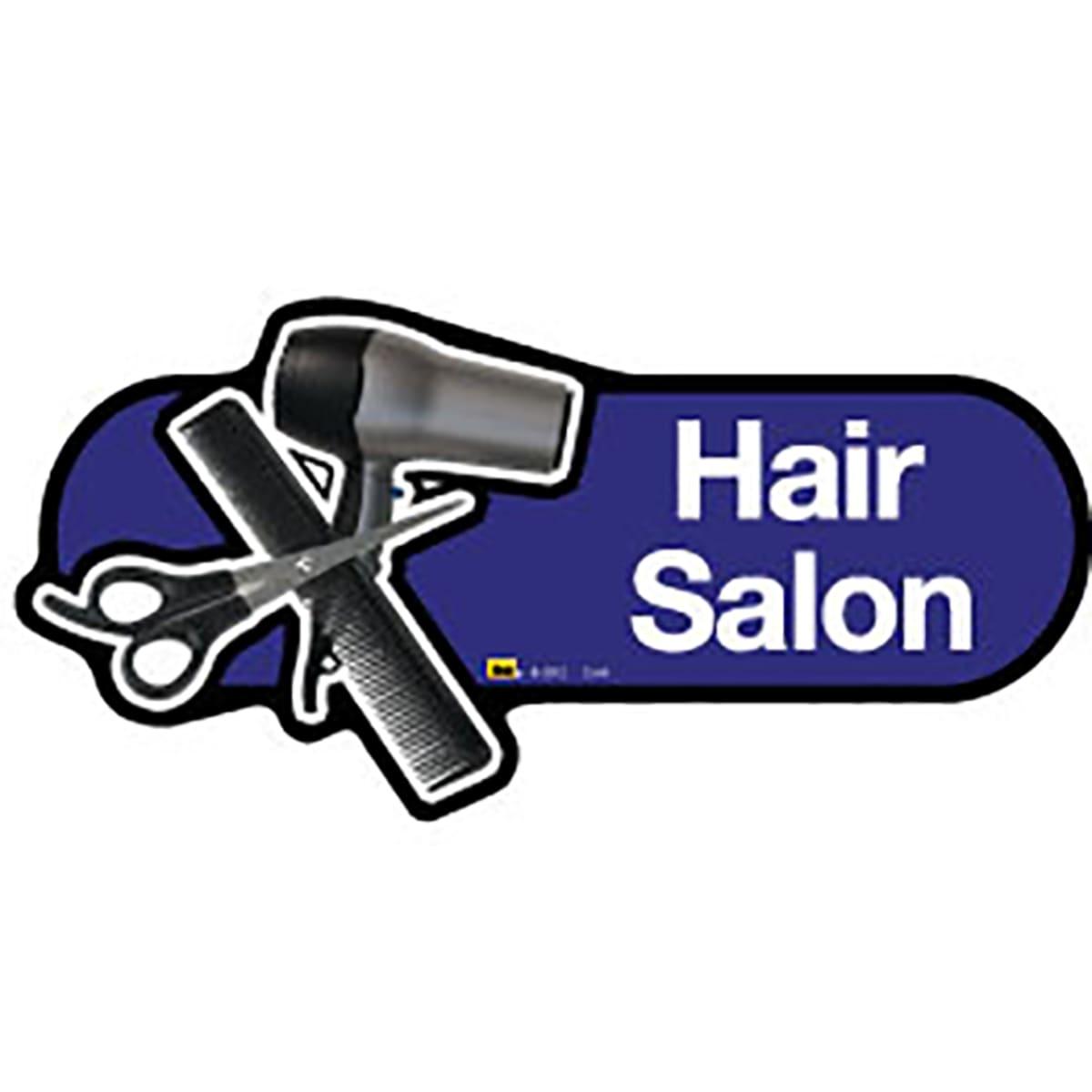 Hair Salon - Dementia Signage