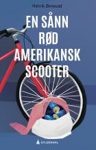 En sånn rød amerikansk scooter