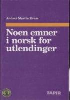 Noen emner i norsk for utlendinger