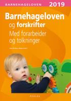 Barnehageloven og forskrifter