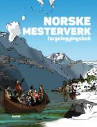 Norske mesterverk. Fargeleggingsbok