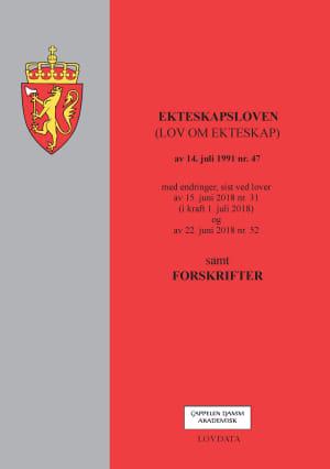 Ekteskapsloven (lov om ekteskap) av 14. juli 1991 nr. 47