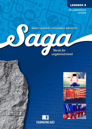 Saga 9 Lesebok (fellesspråklig) , d-bok
