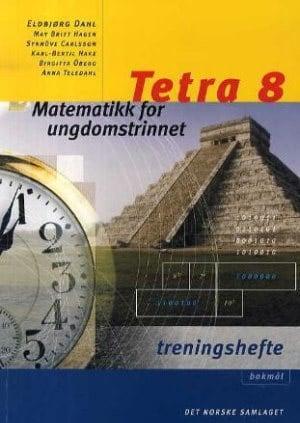 Tetra 8 Treningshefte, d-bok