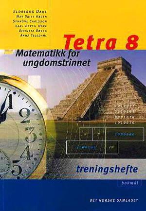 Tetra 8 Treningshefte interaktiv, d-bok