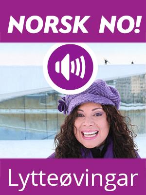 Norsk no! Lytteøvingar (digital)